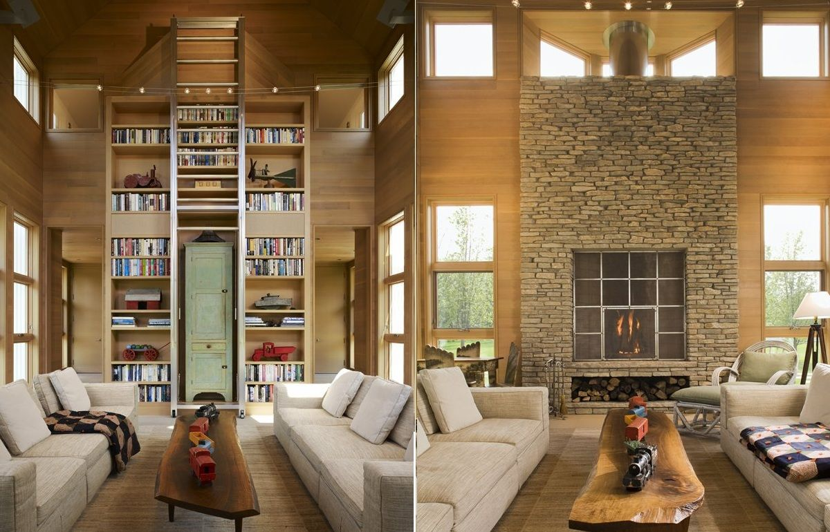 Country Interior Decorating Ideas: Dream House With Warm Practical And Interactive Interior