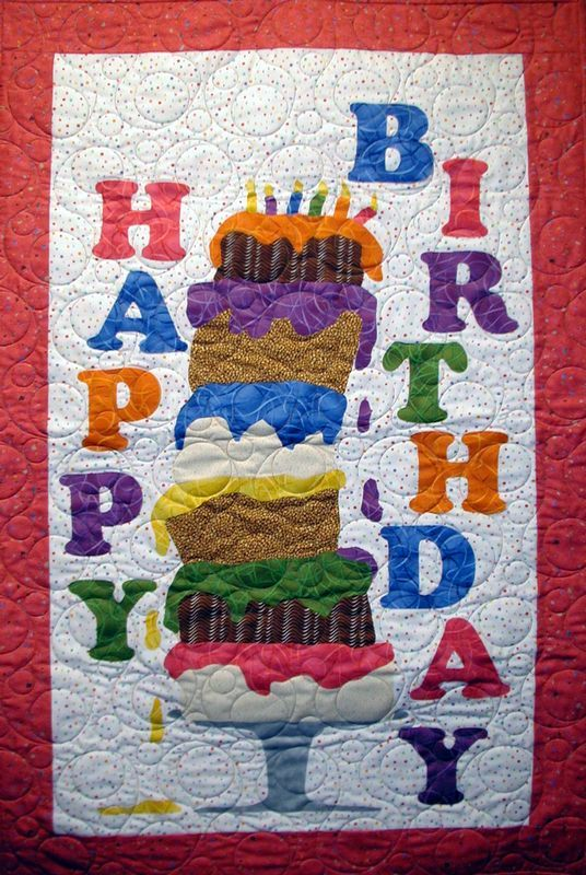 Birthday Cakes For Quilters