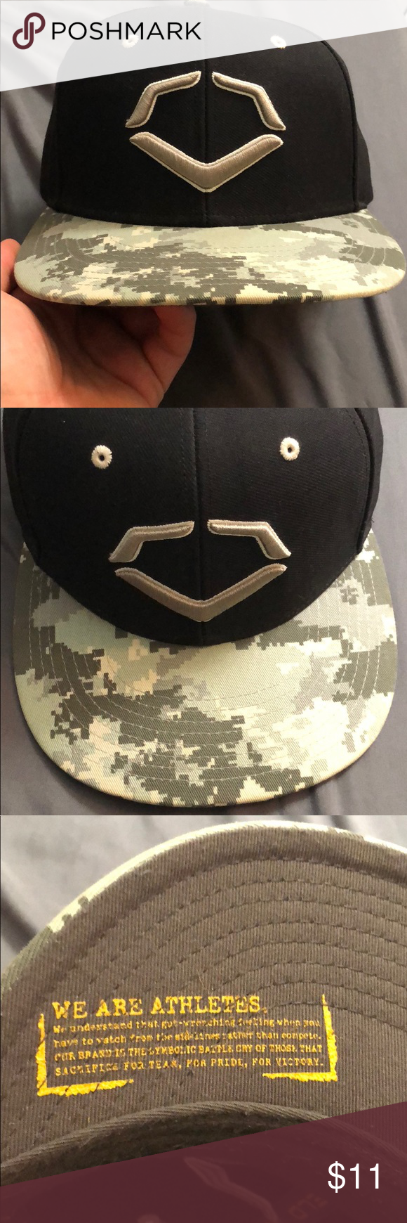 new arrivals 5fd2f 30f77 ... purchase evoshield snapback hat up for sale is an evoshield snapback hat.  the hat features