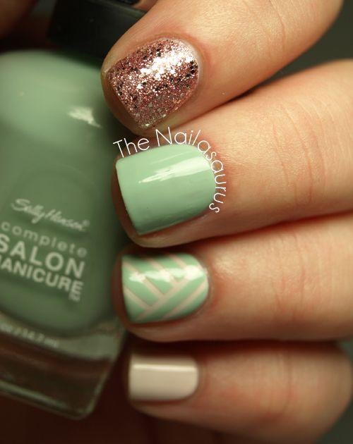 nailart Clube do Esmalte | Nail Art | Pinterest | Diseños de uñas ...
