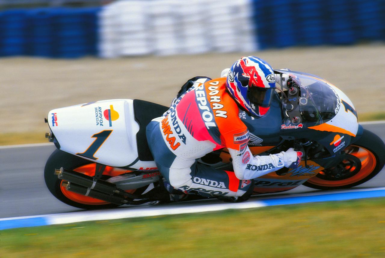 Mick Doohan. Honda. 1995 MotoGP.