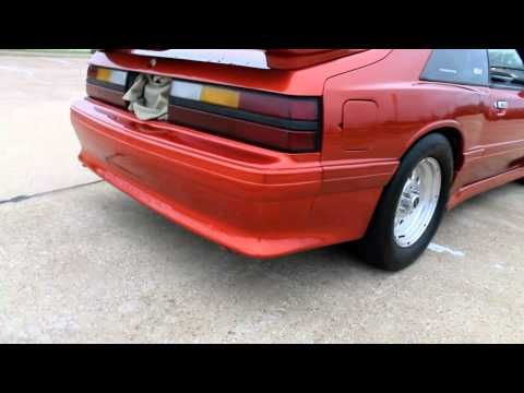 Mercury Capri Converted Into A 1990 S Style Mustang Youtube Mercury Capri Mustang Hatchback Mustang