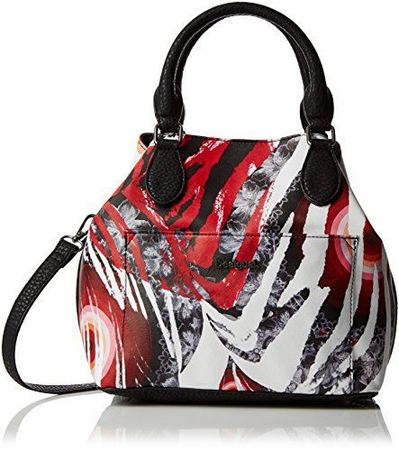 Desigual Womens Florida Wild Cross Body Bag Negro Women Bags