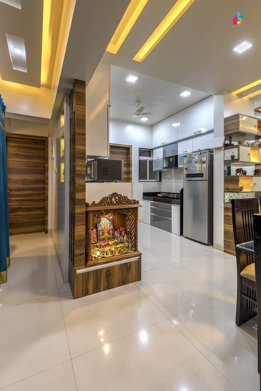 Interior Designer In Thane Flat Interior Design Pooja Room Door Design Pooja Room Design