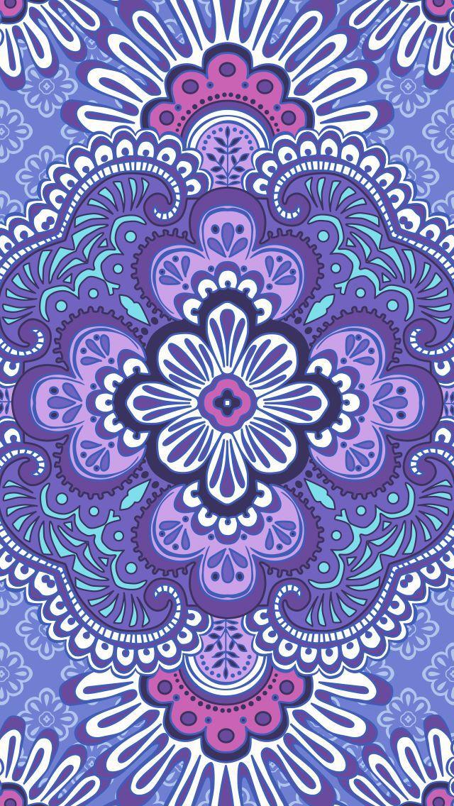 68f4bc539bbf Lilac Tapestry Iphone Wallpaper Vera Bradley
