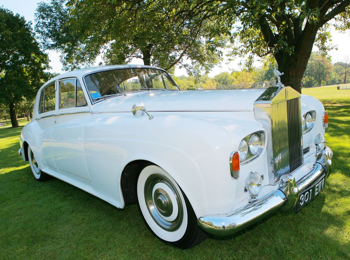 1964 rolls royce silver cloud iii wedding limo vintage rolls royce limo perfect for any