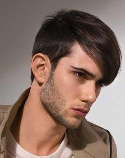 Men Straight Hairstyle Cortes Pinterest Cabellos Cortos 2017