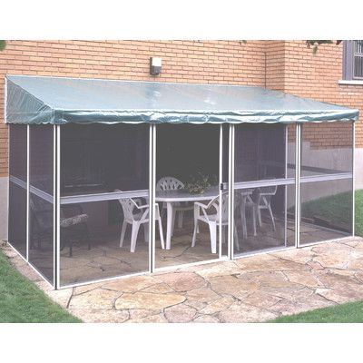 Gazebo Penguin Add A Room 11 3 Ft W X 7 5 Ft D Aluminum Gazebo Gazebo Structures Aluminum Gazebo Gazebo