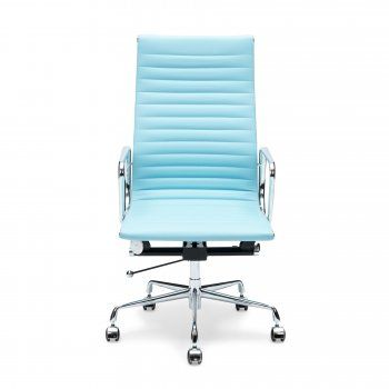 iconic designs light blue ribbed office chair in 2019 my style rh pinterest com light blue swivel desk chair baby blue desk chair