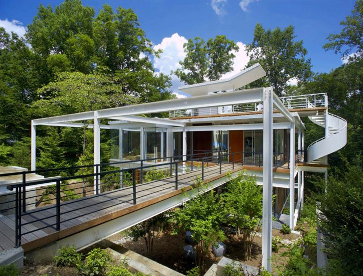Steel portal frame house construction google search Steel frame homes