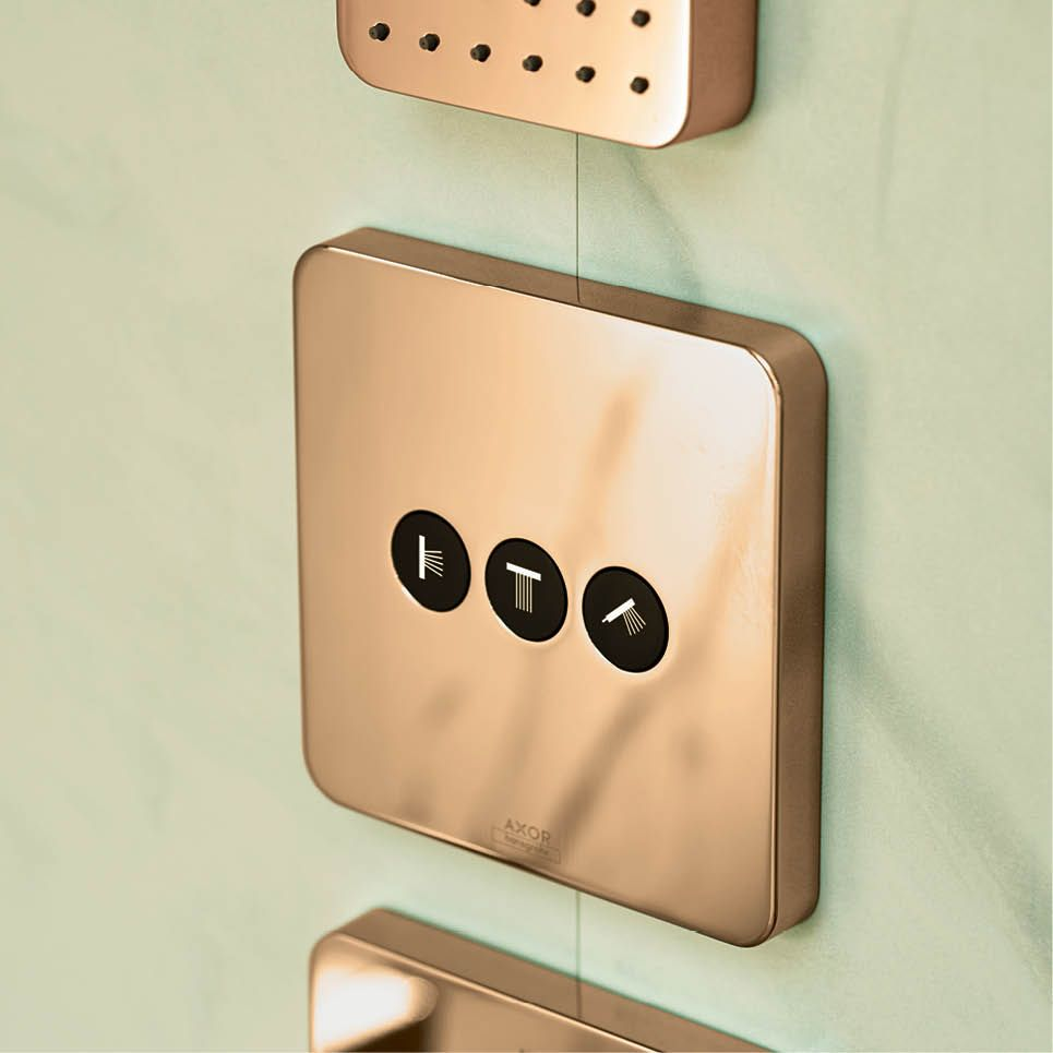 Axor ShowerSelect in Rose Gold | Hansgrohe United Kingdom ...