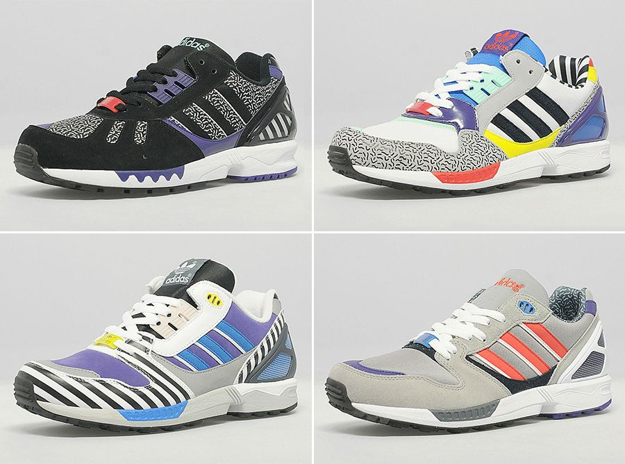 Squiggle Theory: The '80s Design Movement Taking Over Today | Adidas ZX,  Memphis and Adidas