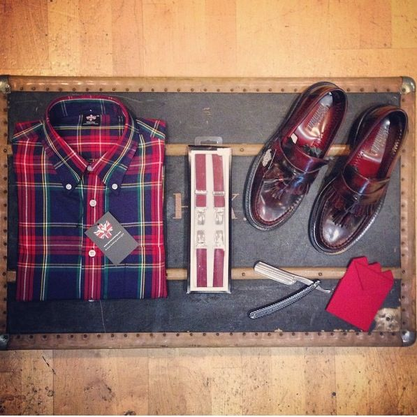 f3778d5d6294 For a fellow on the road ikon original loafers warrior button jpg 597x597 Relco  ska mods