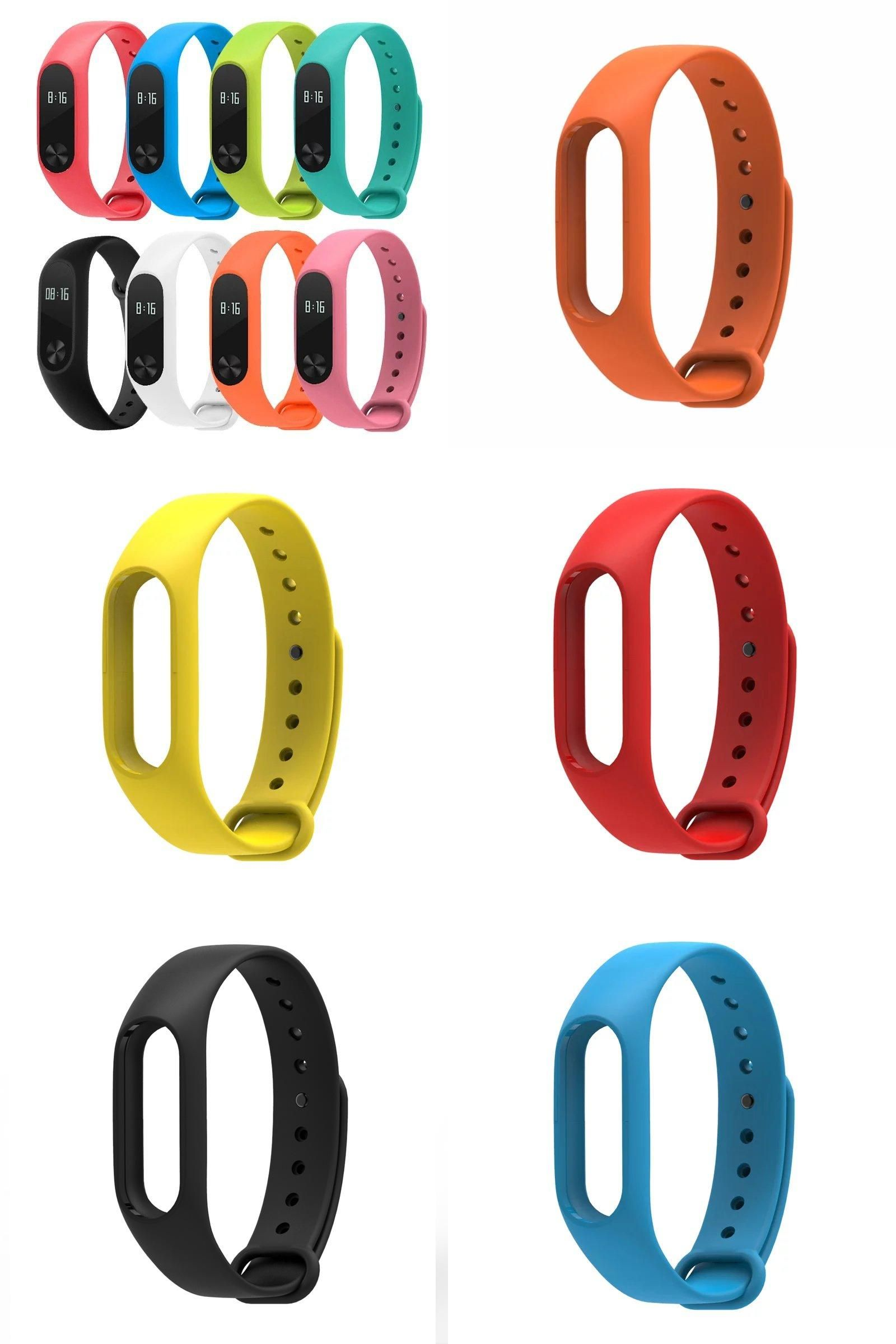 Visit To Buy For Xiaomi Mi Band 2 Strap Miband 2 Wristbands Mibos Colorful Strap Smart Bracelet 5 Color Replace Accessories Smart Bracelet Wristbands Xiaomi