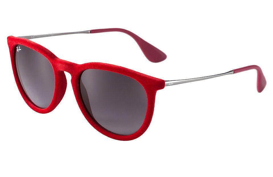 gafas ray ban montura roja
