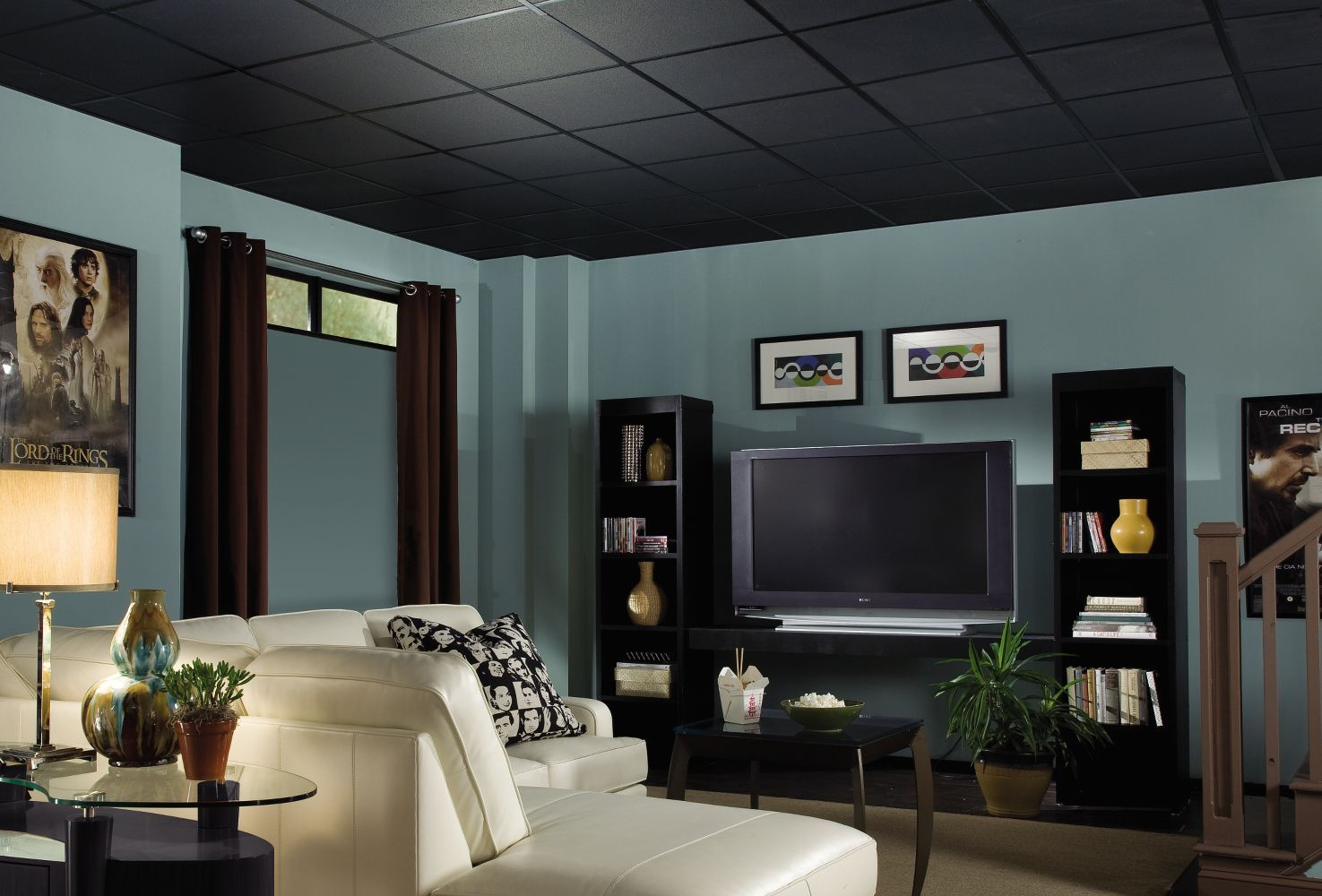 Fine fissured homestyle ceilings textured black 2 x 2 panel 1728 fine fissured homestyle ceilings textured black 2 x 2 panel 1728 by armstrong dailygadgetfo Choice Image