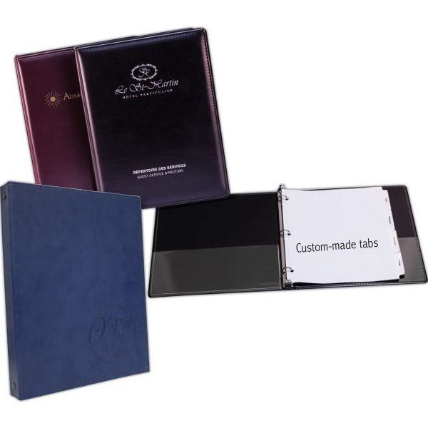 Information Binder For Hotel Room A 3 Round Ring Binder With A 1 2 Quot Capacity For 7 1 2 Quot X 11 Quot Sheets Large Enoug Hotels Room Hotel Promo Items