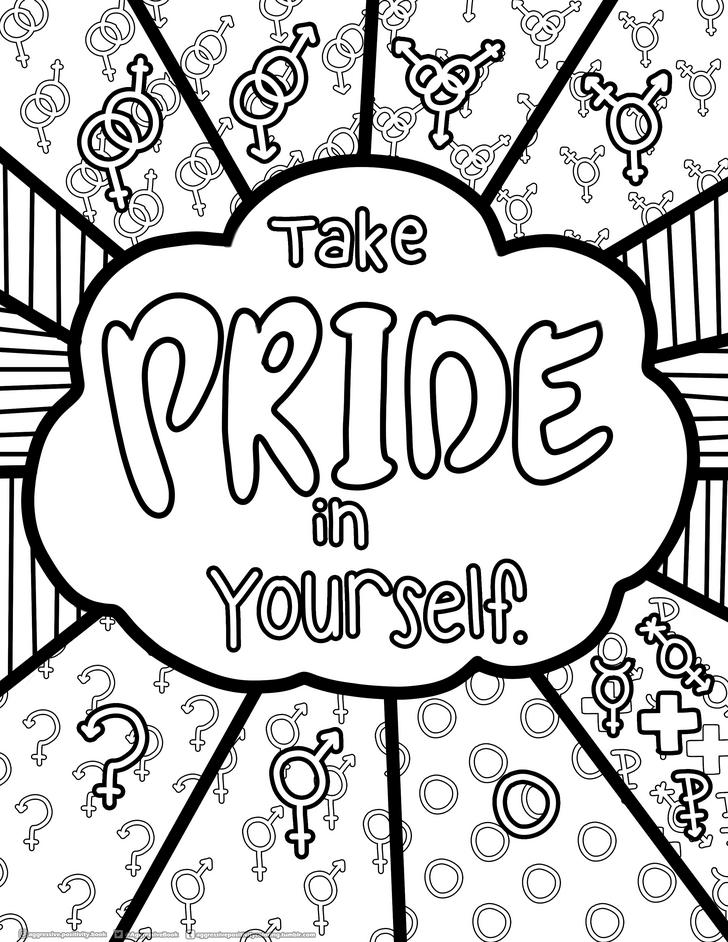 Pride Colouring Pages Colouring Pages Free Coloring Pages Book Decor