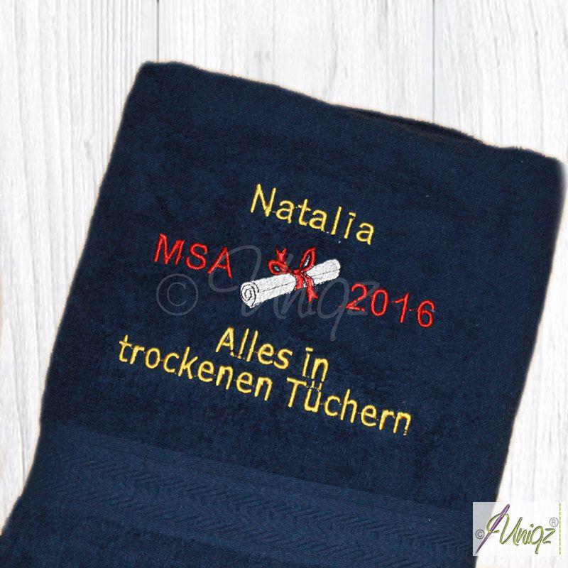 MSA 2016, Geschenkidee uniqz.de Alles in trockenen Tüchern