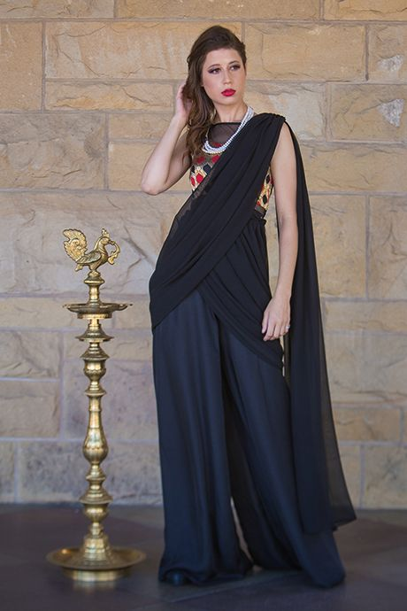 0f53449cd2f0 A modern take on a traditional Indian outfit