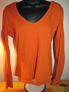 Details about OLD NAVY ORANGE LONG SLEEVE LIGHTWEIGHT HOODIE SHIRT ...