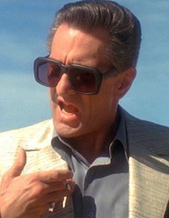 4434f76953 Robert De Niro in Casino(1995) wearing Ultra Goliath frames