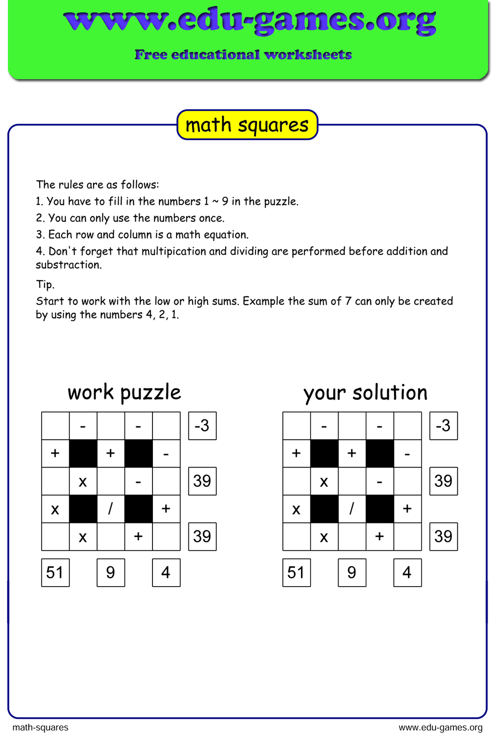 Pin On All Worksheets From The Edu Games Org Website