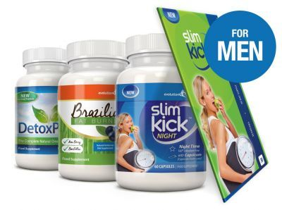 The Detox and Diet Bundle Pack for Men (1 Month Supply)