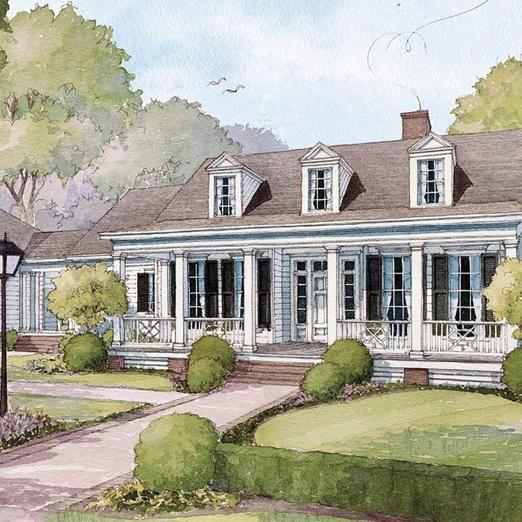 Looking To Build The Bellewood Cottage House Plan Has A Classic Design Made To Suit Any Stage Of Life Southern Living Cottage House Plans Beach House Plans Craftsman House Plans