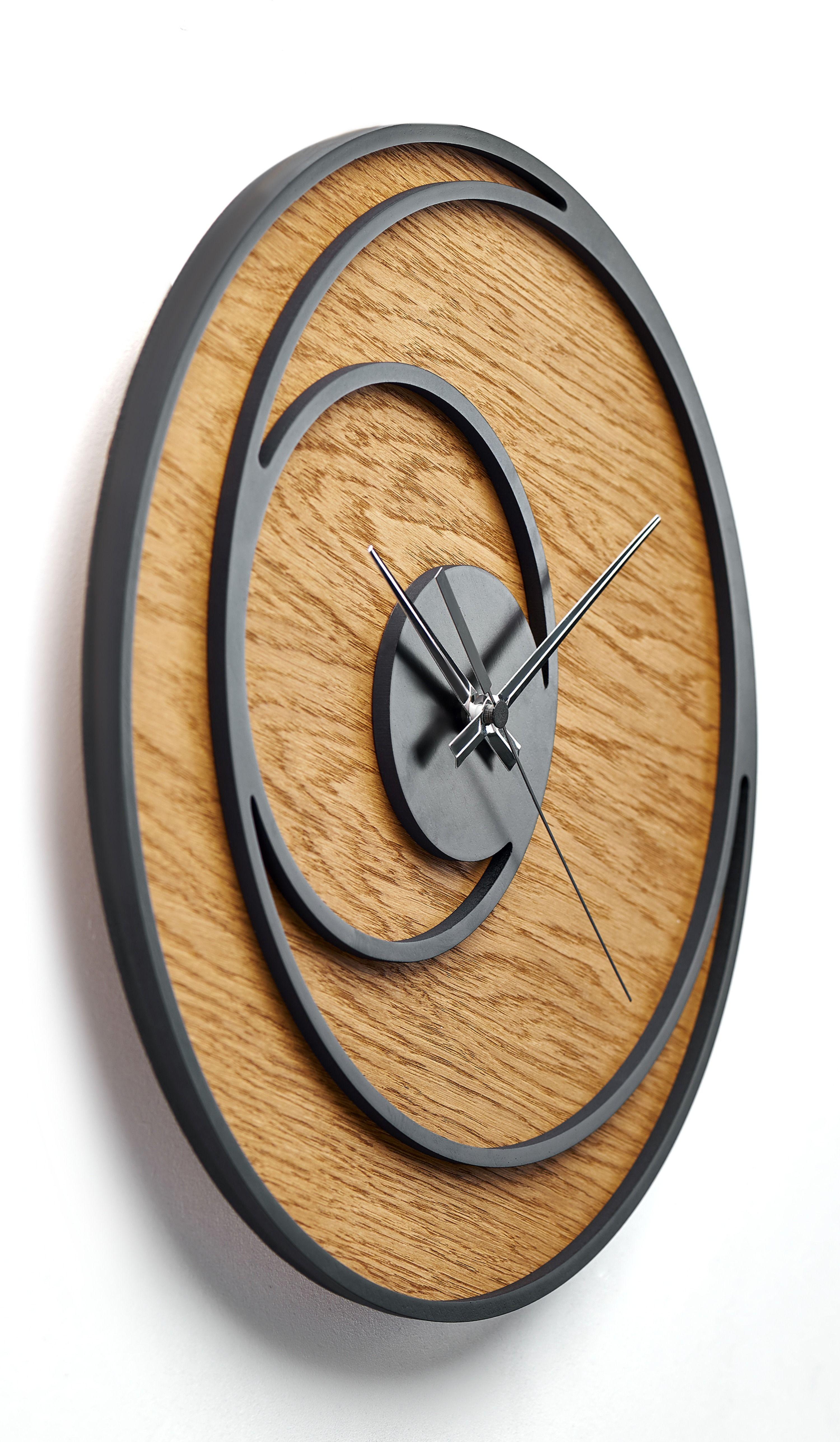 Wall Clock Modern Nursery Wall Clock Rustic Wall Clock Wooden Wall