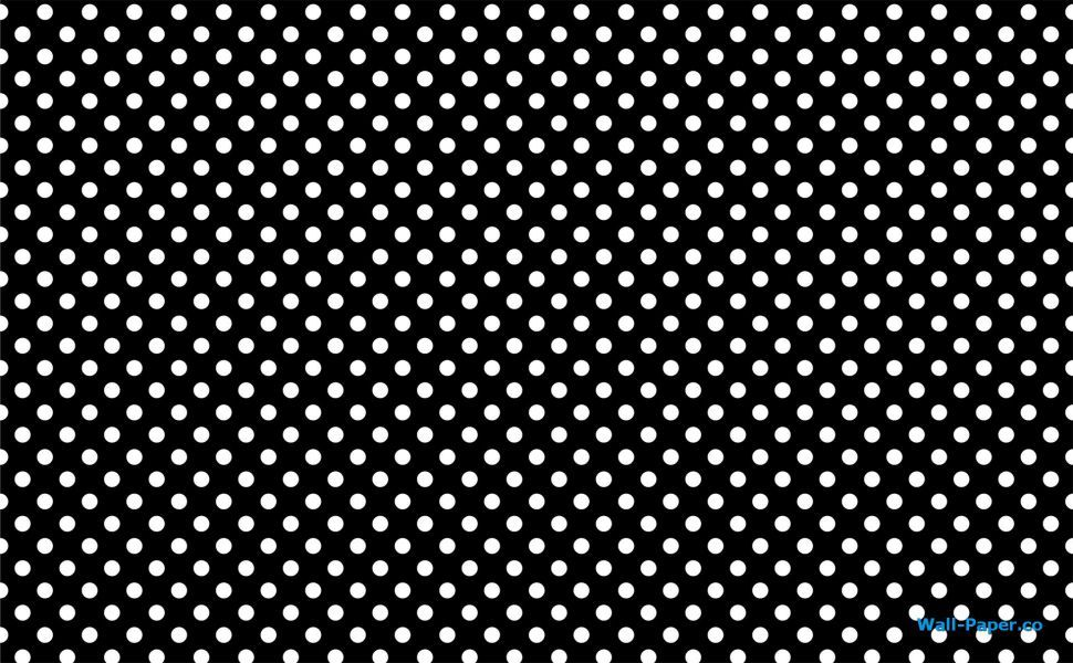 White dots HD Wallpaper Polka dots wallpaper, Dots