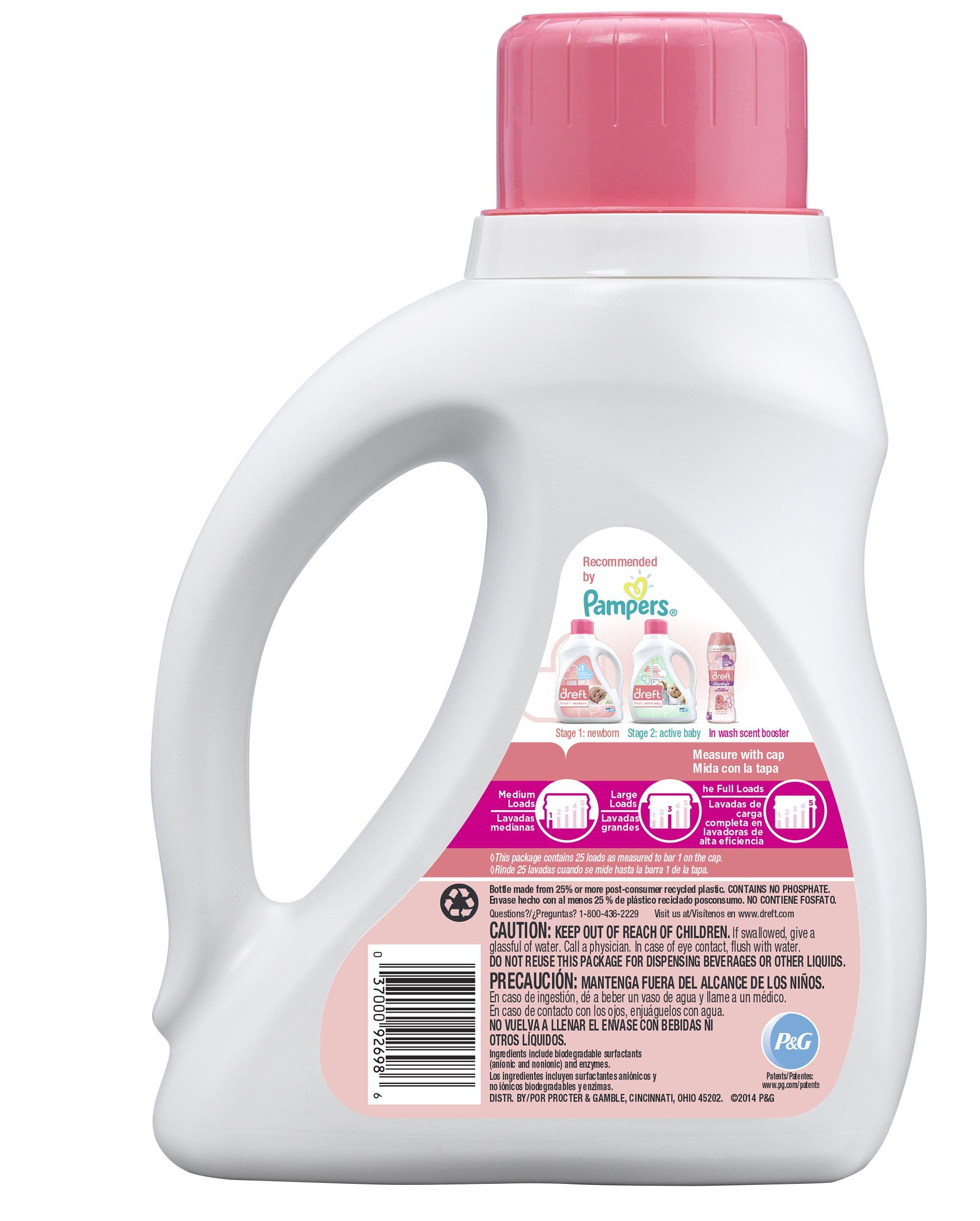 Dreft Stage 1 Newborn Liquid Laundry Detergent He 40 Oz 25 Loads Want Additional Info Click On The Imag Baby Detergent Detergent Bottles Laundry Detergent