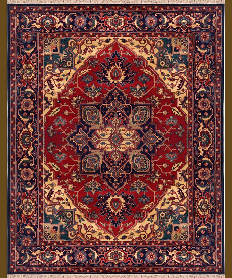 Persian Rug Dark Blue Motifs Ideas For My Abode In 2019