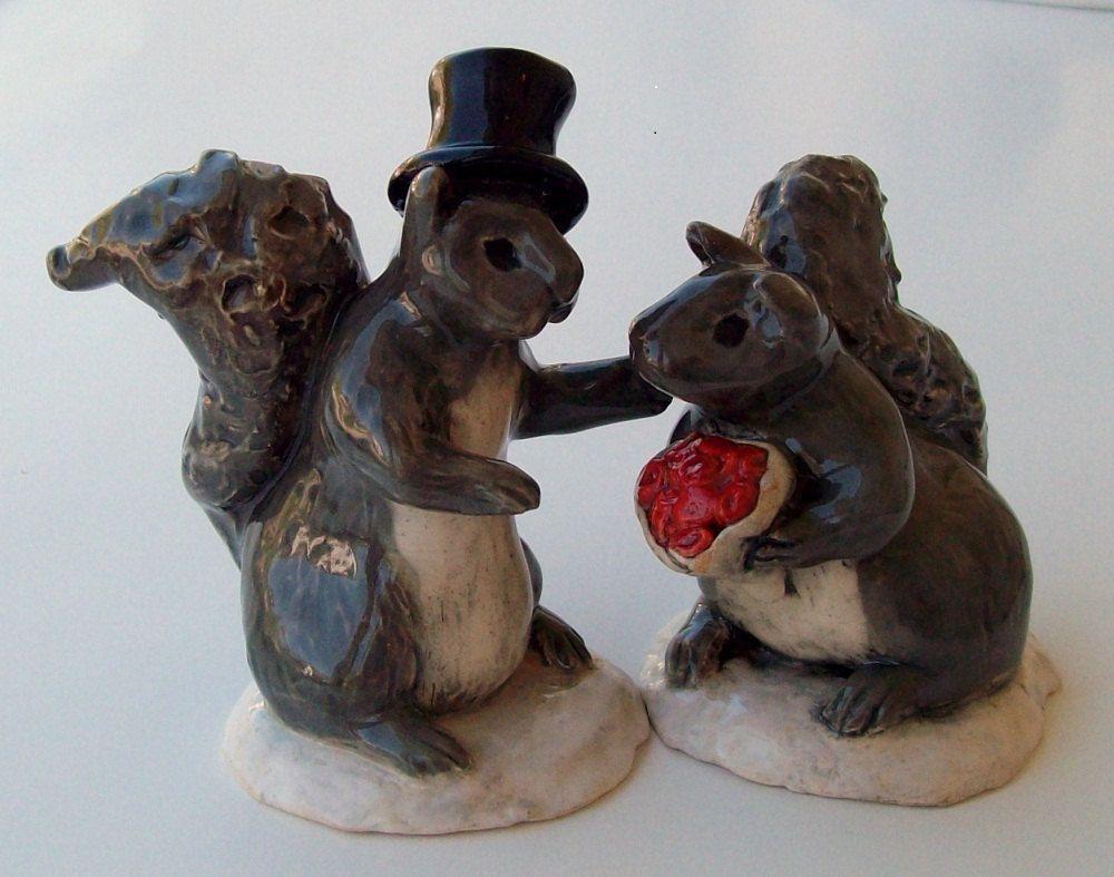 Squirrel Wedding Cake Topper Wedding Cake Toppers Cake