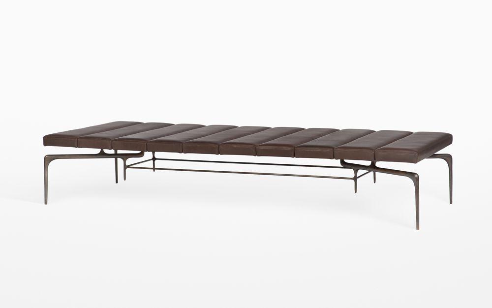 Bridger Daybed Caste Seating Bench Furniture Daybed
