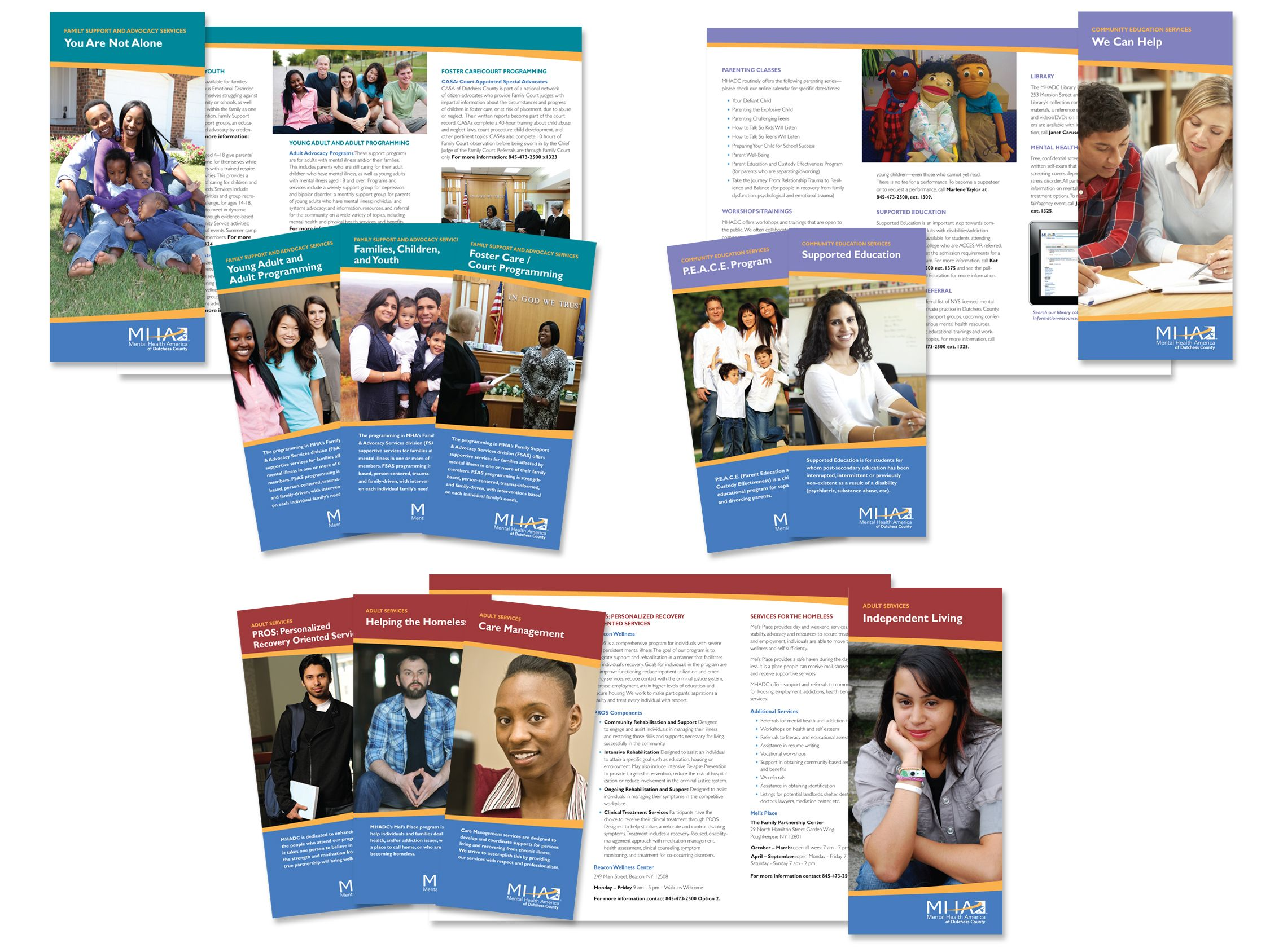 Brochures trifold with images brochure brochure
