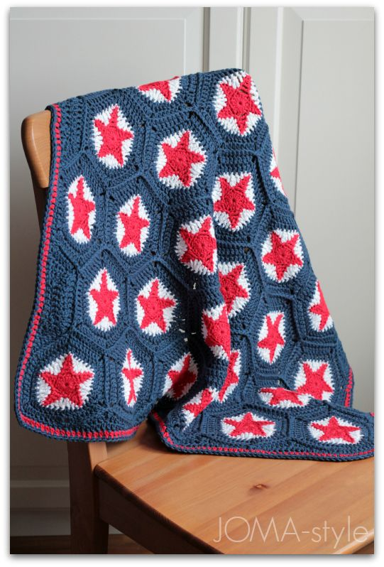 sternen decke h keln crochet star blanket crochet. Black Bedroom Furniture Sets. Home Design Ideas