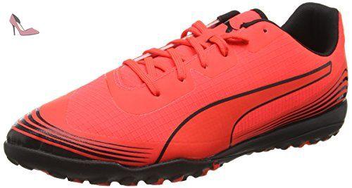 Puma Evopower 4.3 Tricks AG - Chaussures de Football - Homme - Rose (Pink Glo/Safety Yellow/Black) - 43 EU (9 UK) YQrvHdAK