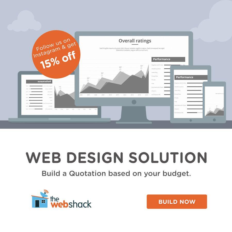 Build A Website Design Quotation Now In 2020 Web Design Website Design Get Instagram