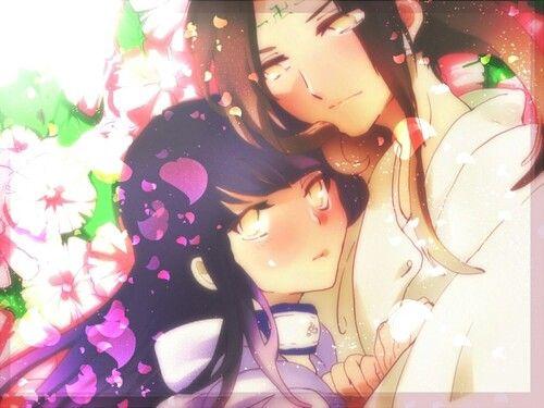 Anime couple. Neji and Hinata