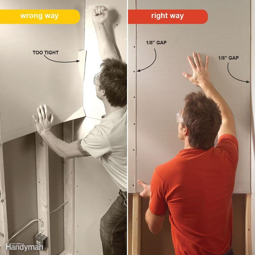 7 Drywall Installation Mistakes You Ve Probably Made Before In 2020 Drywall Installation Drywall Hanging Drywall