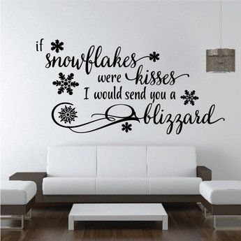 Image Result For Quote Snowflakes Kisses
