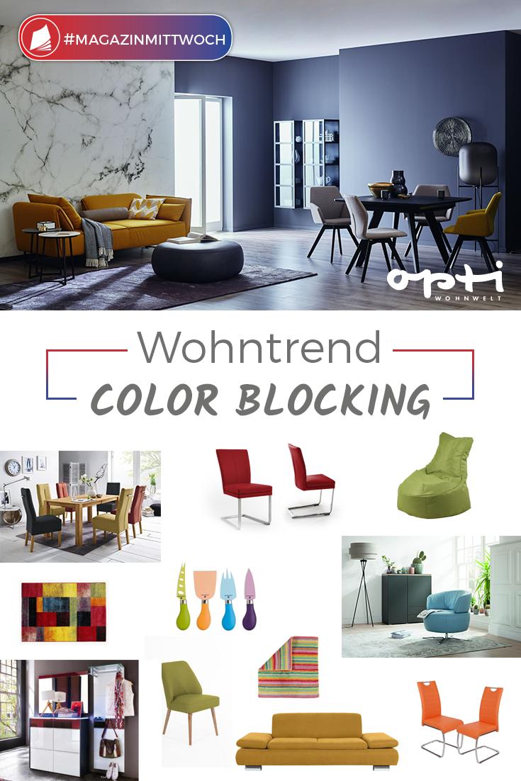 Wohntrend Color Blocking Es Wird Wieder Bunt Zuhause