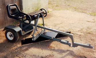 Track Scraper Leveller Polaris Rzr Forum Atv Implements Tractors Tractor Attachments
