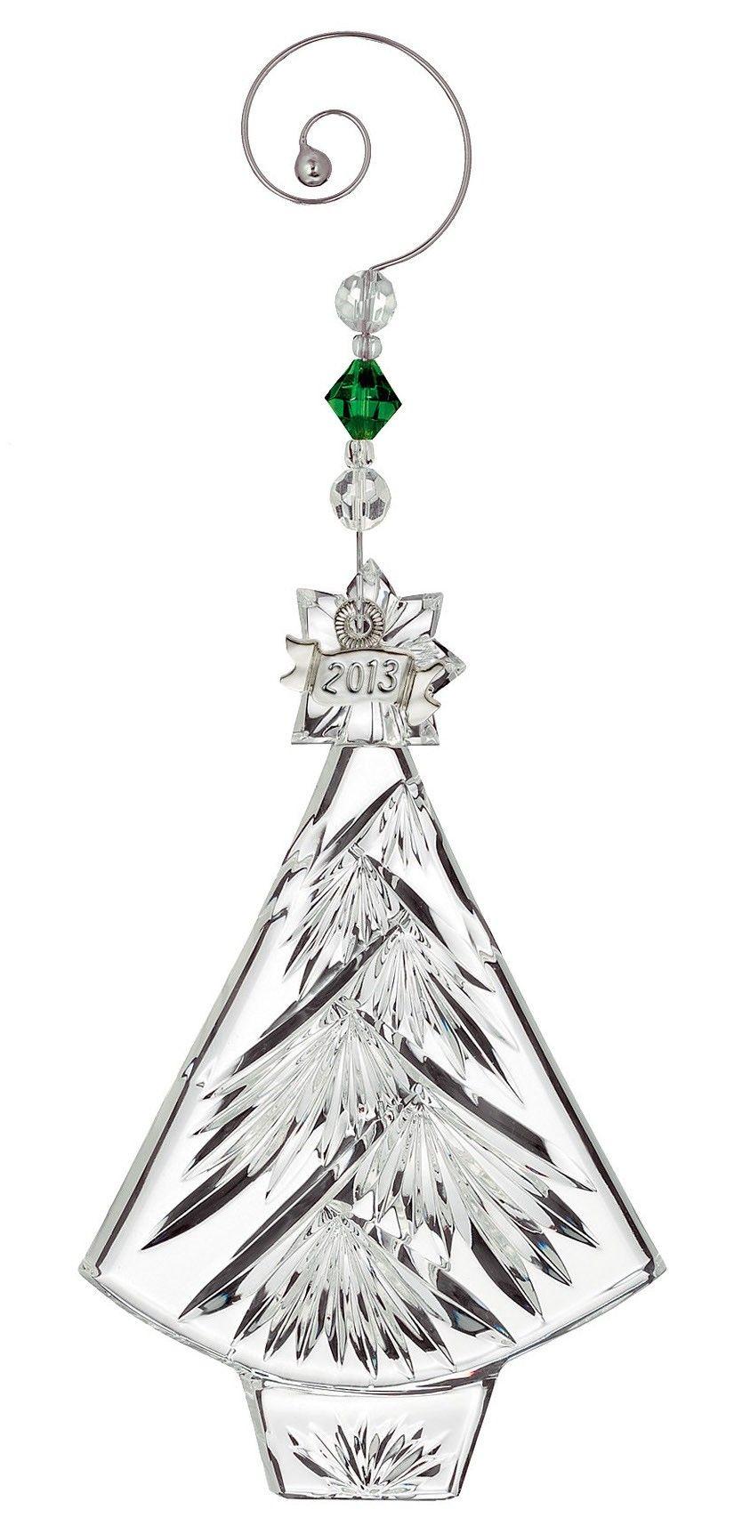 Wedgwood Crystal Christmas Tree Ornament   holiday ...