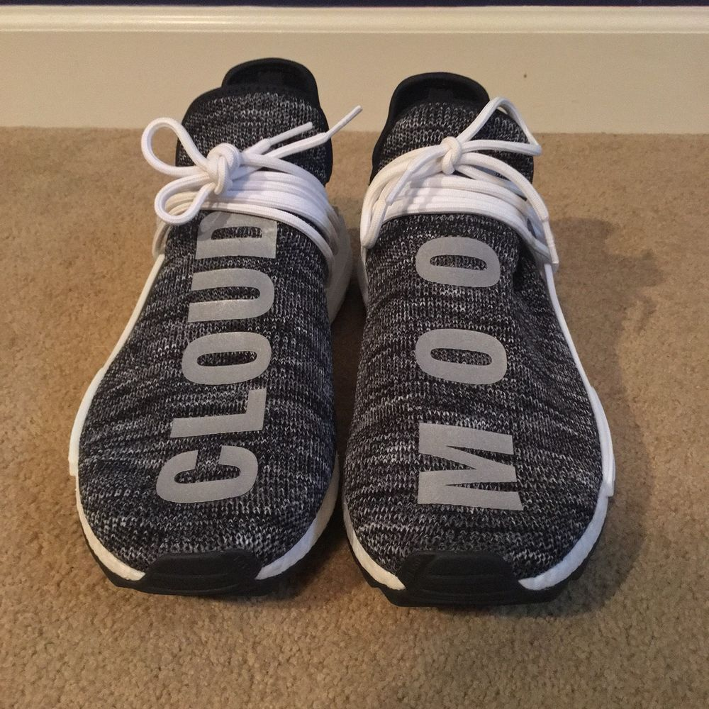 f04126b77dbbd Adidas NMD Human Race HU X Pharrell William Trail Black Oreo Size 11   fashion  clothing  shoes  accessories  mensshoes  athleticshoes (ebay link)