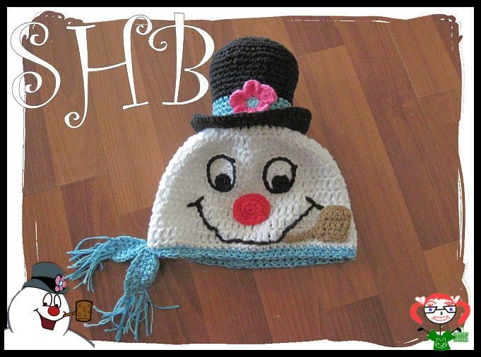 Frosty Snowman Hat Frosty The Snowman Crochet Hat By Shb Crochet Hat Pattern Crochet Hats Crochet Christmas Hats