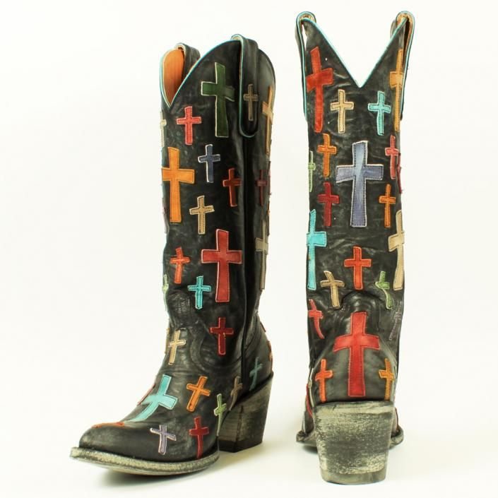 these old gringo boots are too amazing...crosses cowgirl