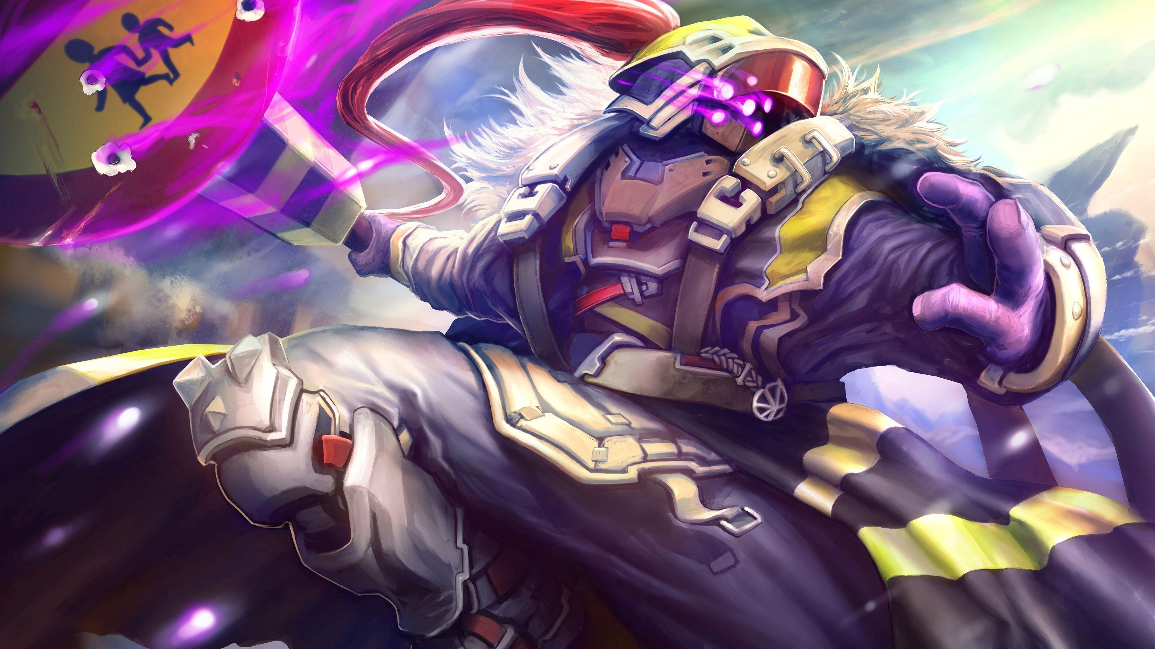 Download Wallpaper 3840x2400 Jax League Of Legends Art Ultra Hd League Of Legends Characters League Of Legends Fantasy Online