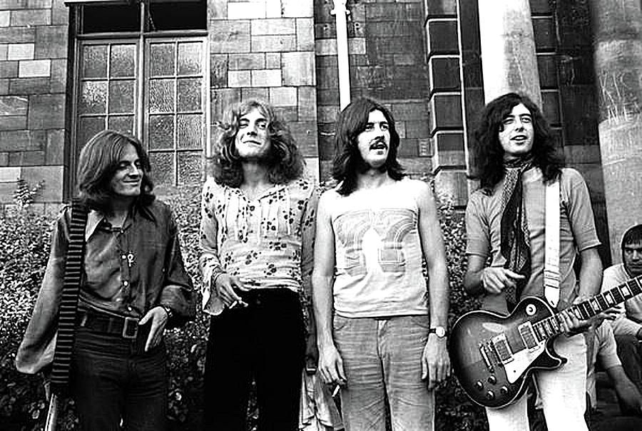 Led Zeppelin In Their Heyday By Dan Haraga Led Zeppelin Led